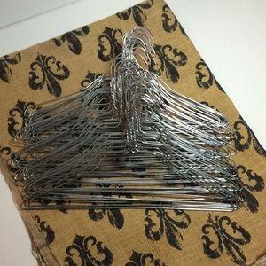 Metal Hangers Quantity 50 Adult Size